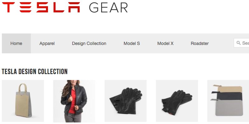 1 Tesla Motors Gear