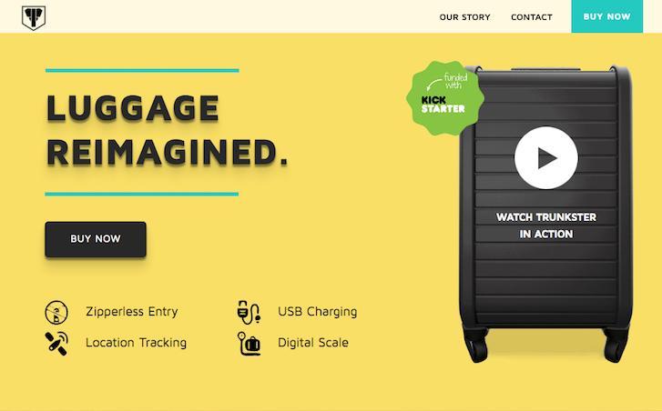 Ecommerce Website Design Trunkster 1