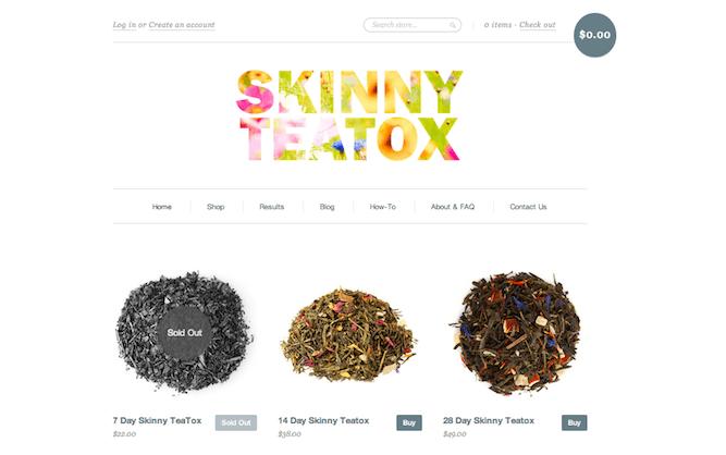 Skinny Teatox Detox Weight Loss Tea 1