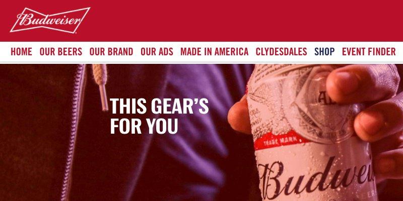 X Budweiser