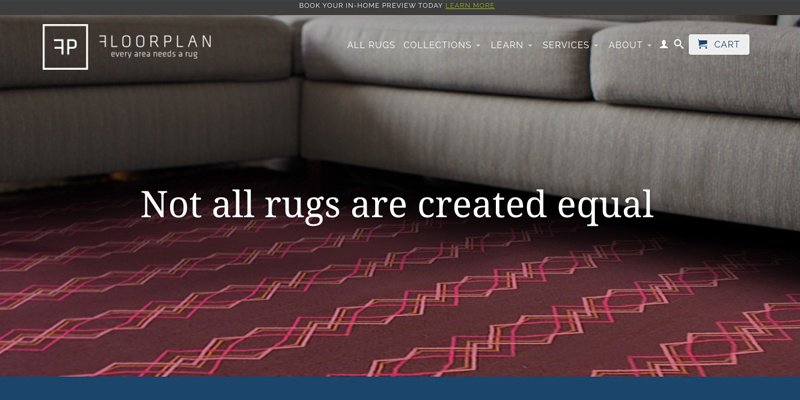 X Floorplan Rugs