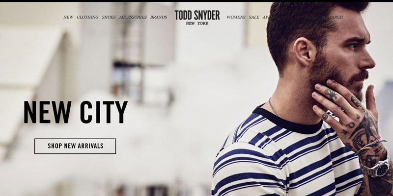 X Todd Snyder